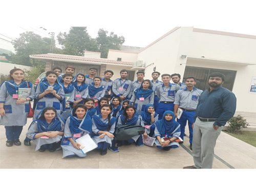Bahria Town School of Nursing Students (1st year BSN)  Visit to Aqua Guard (Pvt)